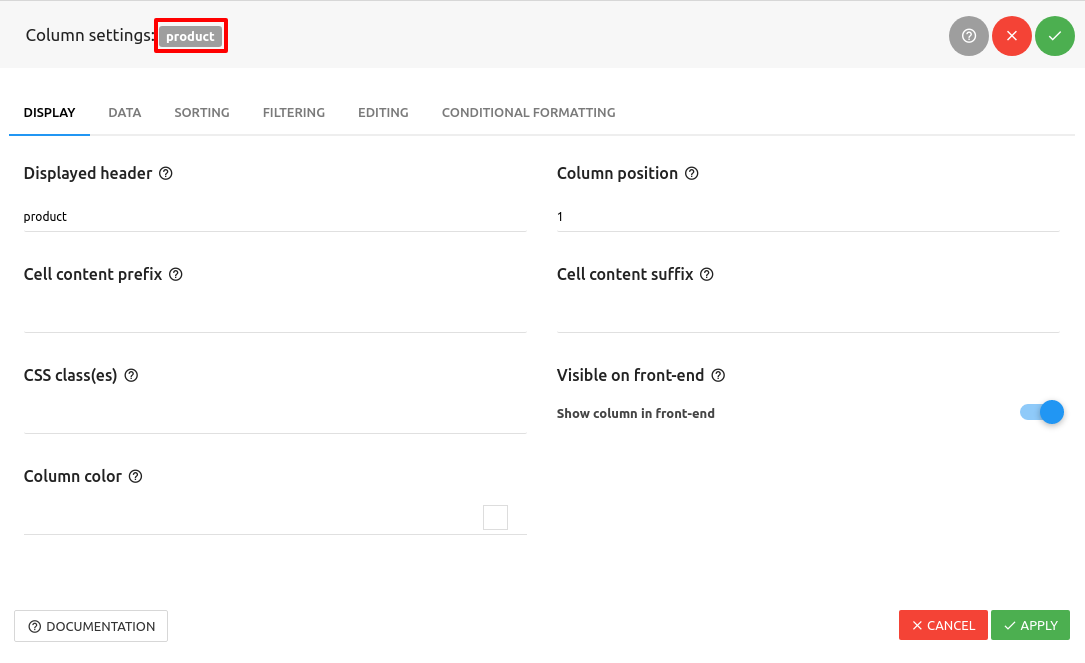 How to create templates for WordPress Report Builder